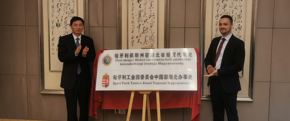 Kirendeltségi irodát nyitottunk Kínában