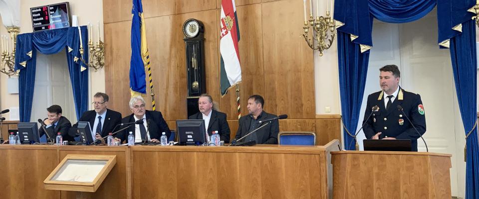 Újra ülésezhetett a közgyűlés