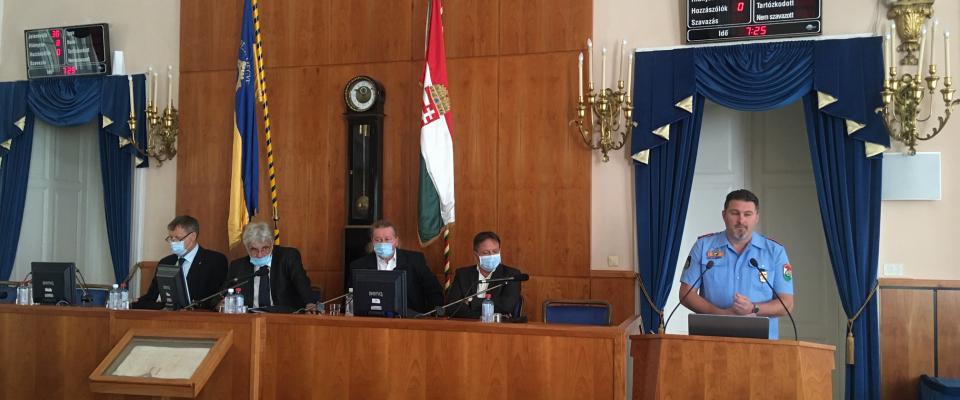 Ülésezett a közgyűlés augusztus 28-án