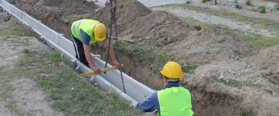 Települési önkormányzatok kaptak támogatást csapadékvíz-elvezető rendszerekre