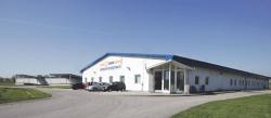 A ráckeresztúri logisztikai központ (Fotó: Burger Zsolt, Magyar Hírlap)